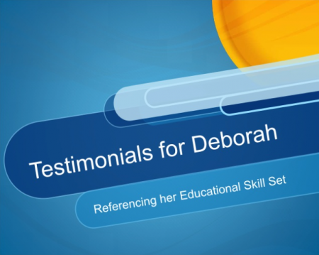 Testimonials for Deborah, as a Statistics Tutor Who Really Cares About Her Students post image